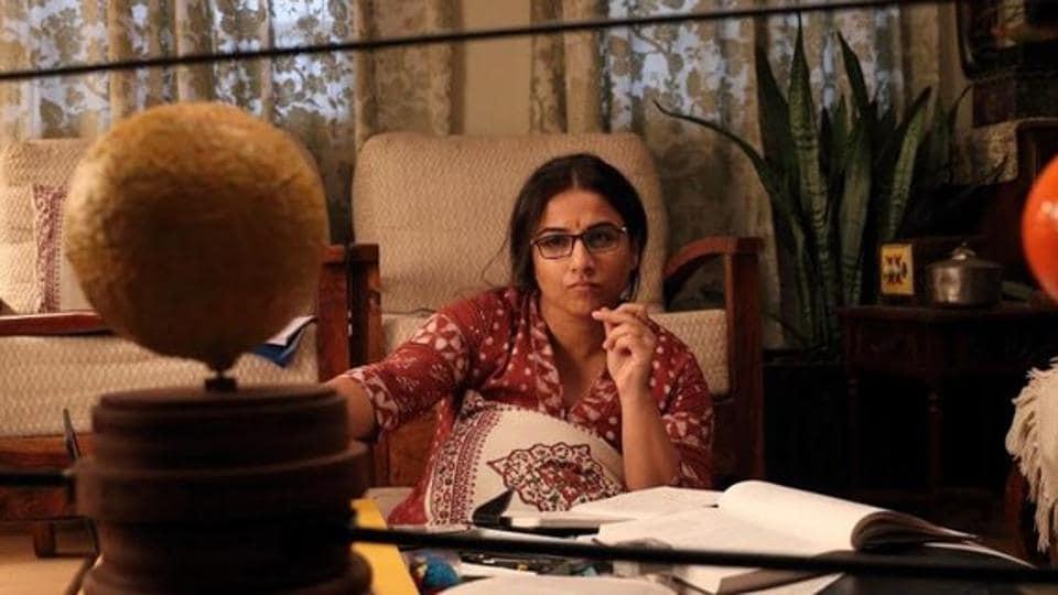 Vidya Balan plays a space scientist in Mission Mangal.