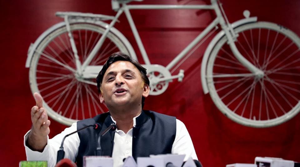 Samajwadi Party chief Akhilesh Yadav on Friday slammed the state government for taking the politics of vendetta to a new low (ANI Photo)