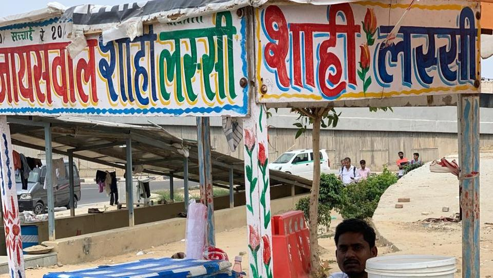 There's nothing redeeming about Gurugram's IFFCO Chowk until one spots Jaiswal's Shahi Lassi.