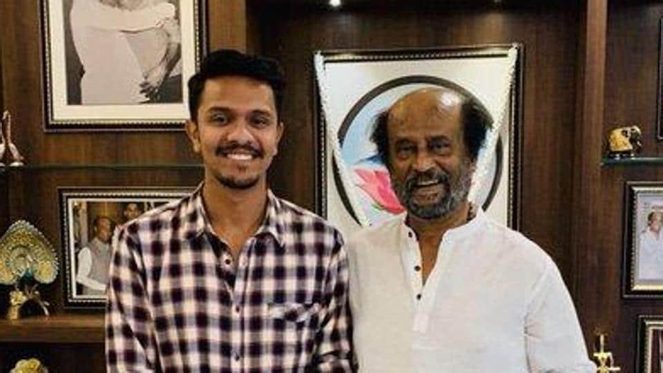 Filmmaker Karthick Naren met Rajinikanth and showed him Mafia teaser.