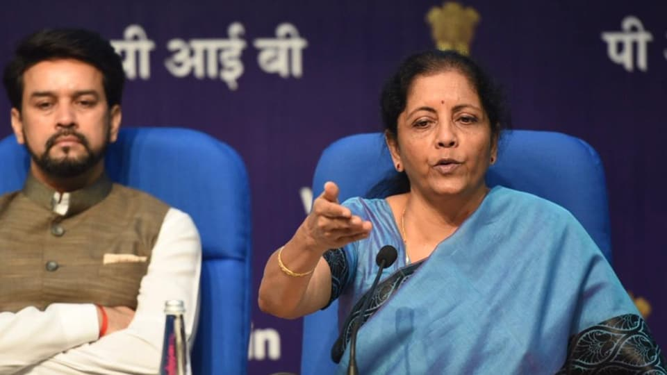 As Nirmala Sitharaman responded to a barrage of questions on the stimulus that could cost the exchequer Rs 80,000 crore, there was one question that asked Sitharaman how she would describe the current state of the economy.