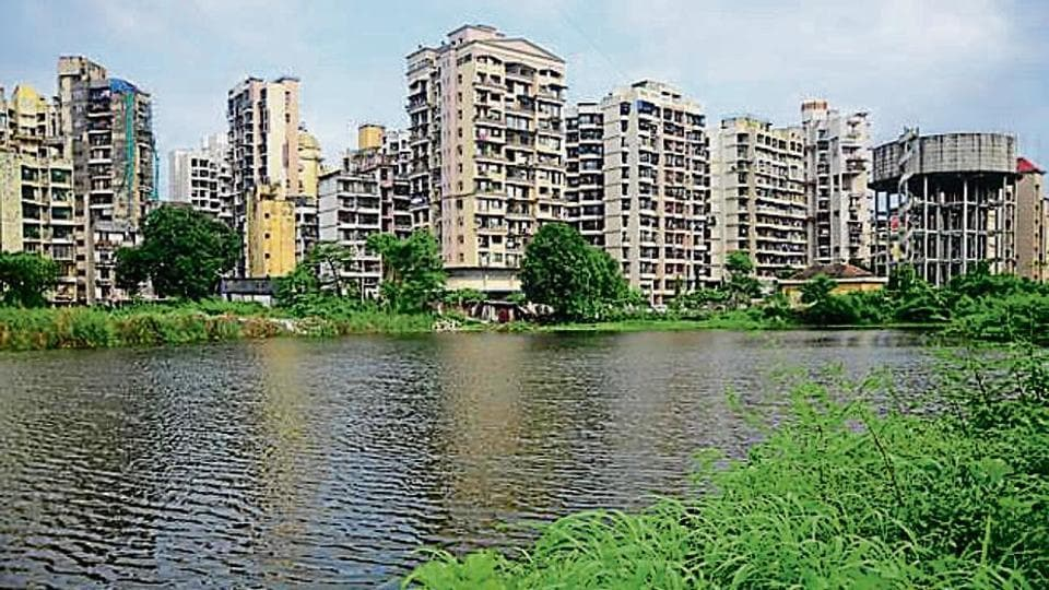 Residents have been fighting to save the pond at Sector 19 in Kharghar in Navi Mumbai.