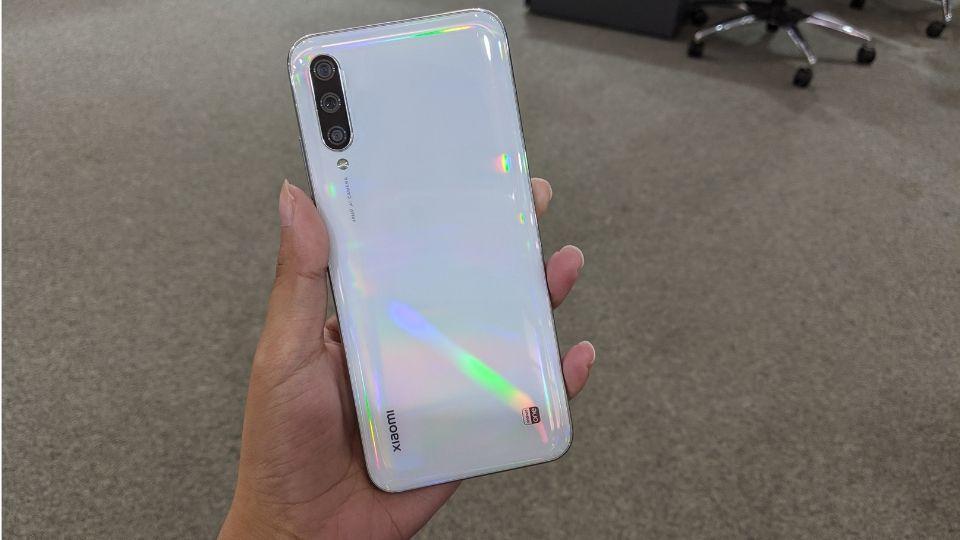 Xiaomi Mi A3 in 'More than white' colour.