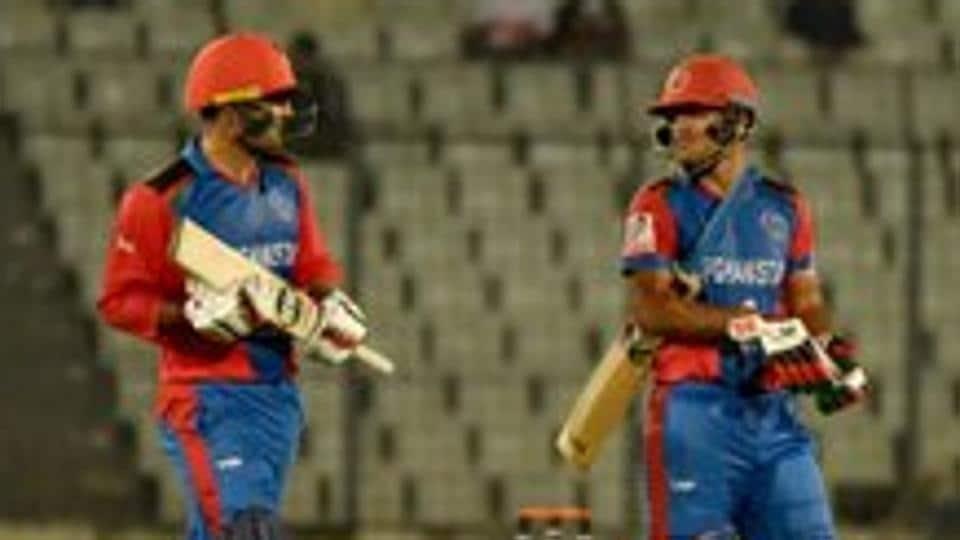Najibullah Zadran smashed an unbeaten 69 off 30 balls.