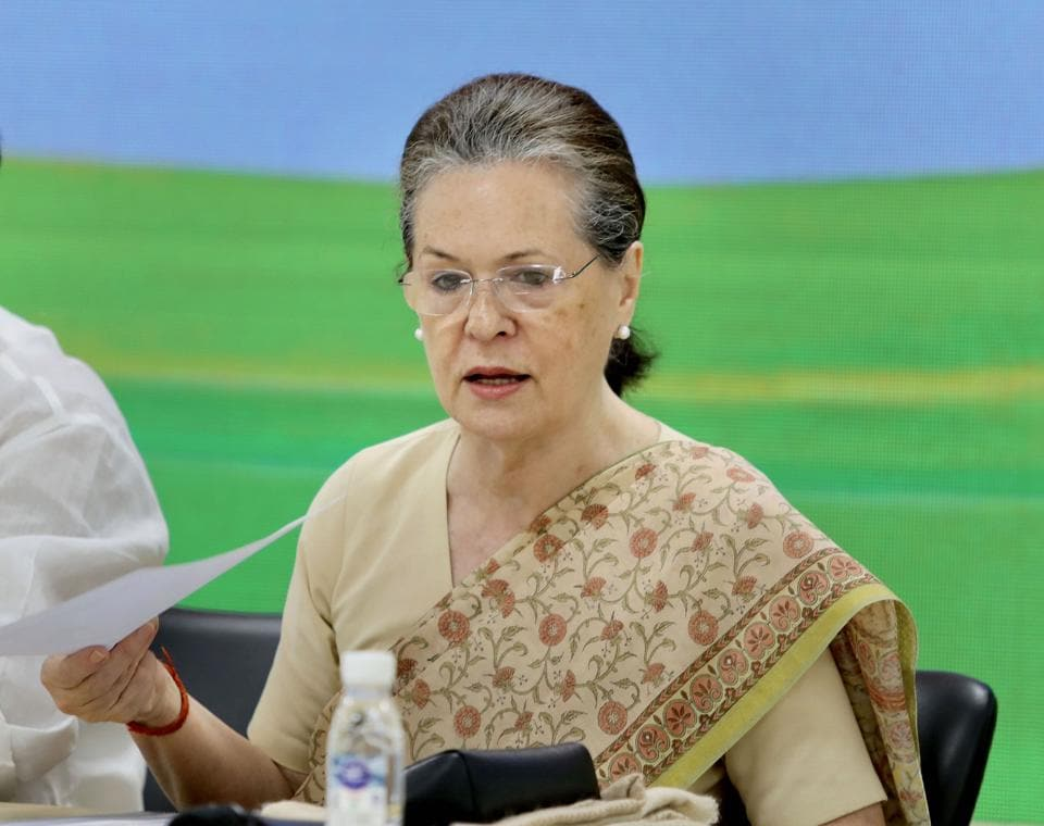 Sonia Gandhi has taken a few decisions that seem to have lifted the morale of the party cadre.