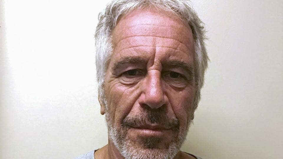 US financier Jeffrey Epstein appears in a photograph taken for the New York State Division of Criminal Justice Services' sex offender registry March 28, 2017.