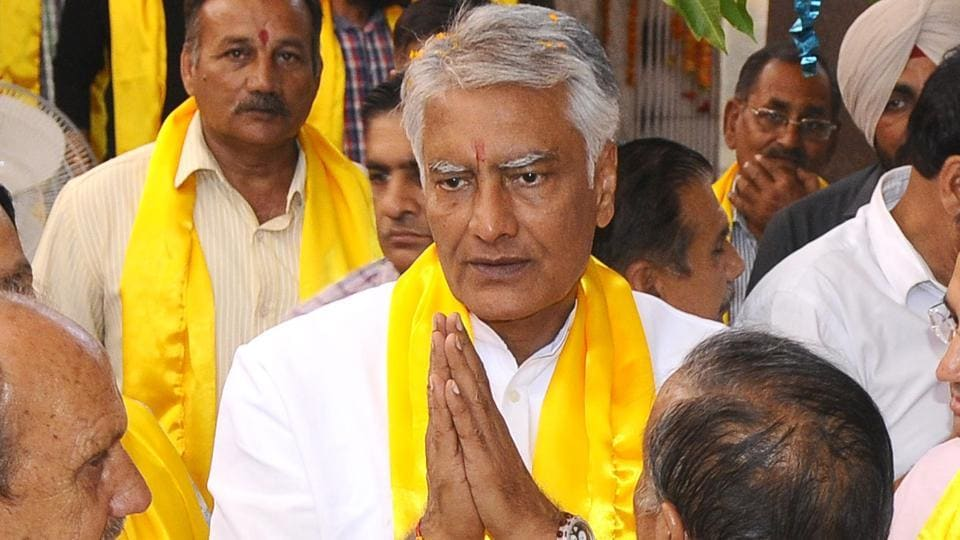 Punjab Congress chief Sunil Jakhar (in pic), Jharkhand unit president Ajoy Roy and Ripun Bora of Assam unit sent in their resignations to party president Rahul Gandhi on Monday.