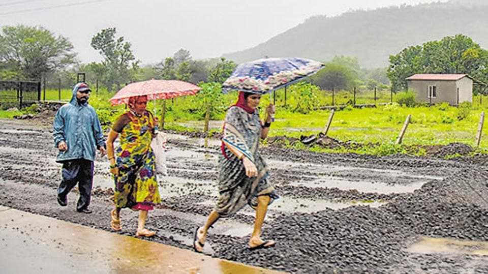 Tamhini ghat in Pune district has registered its highest rainfall this season.