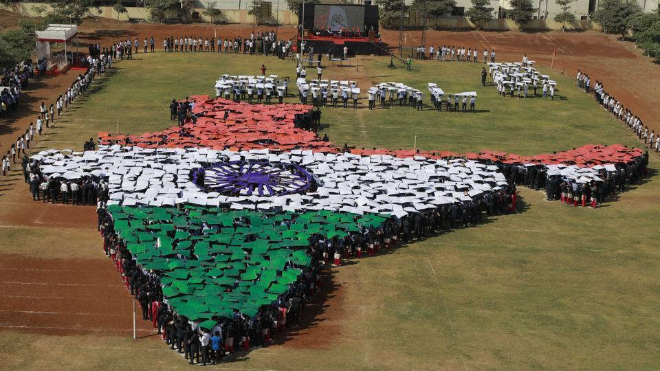 The Survey of India is working on digitally mapping the country over the next two years.(Photo by Rahul Raut/HT PHOTO)