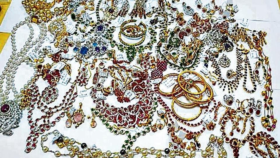 Additional commissioner customs, Amandeep Singh said the two women were arrested and the recovered jewelry was seized under relevant provisions of the Customs Act.