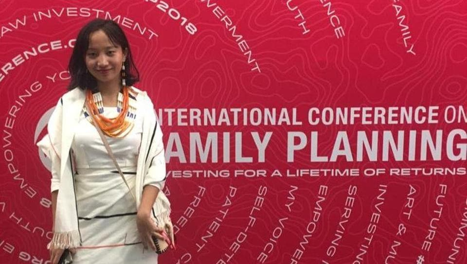 21-year-old Sekulu Nyekha is among the 40 winners selected this year for '120 Under 40: The New Generation of Family Planning Leaders'.
