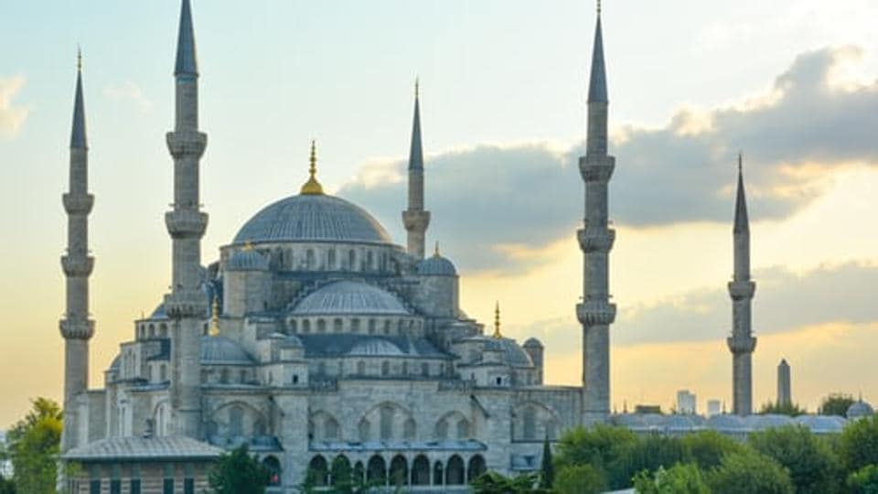 Cosmopolitan Istanbul, on the Bosphorus Strait, is home to the iconic Hagia Sophia mosque (pictured above), with its soaring dome and Christian mosaics, the massive 17th-century Blue Mosque and the circa-1460 Topkapi Palace, former home of sultans.