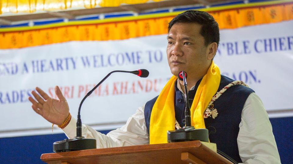 Arunachal Pradesh Chief Minister Pema Khandu.