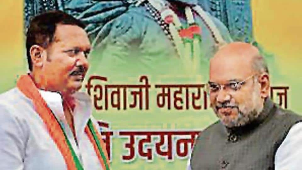 Bhosale, a three-time MP, was inducted into BJP on Saturday, in Delhi, in the presence of the party president Amit Shah.