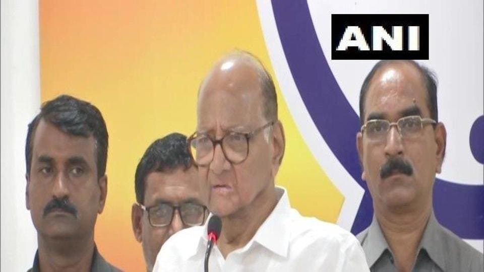 NCP chief Sharad Pawar said misinformation about Pakistani people was being spread for political gains, said ANI