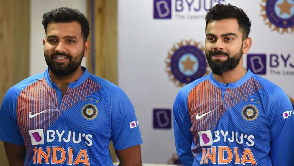 Indian cricket team captain Virat Kohli and batsman Rohit Sharma
