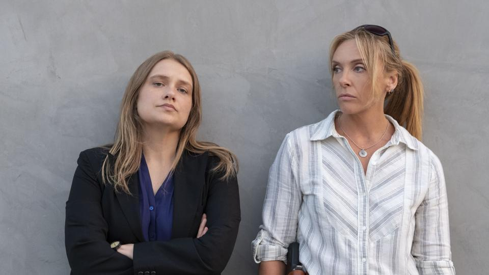 Unbelievable review: Merritt Wever and Toni Collette in a still from the new Netflix miniseries.