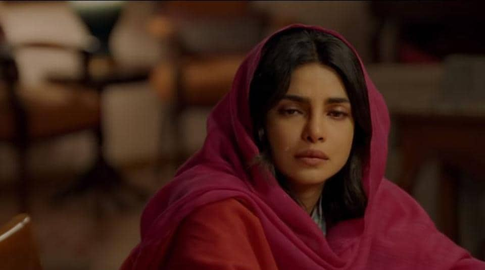 Priyanka Chopra in a still from the film, The Sky Is Pink.