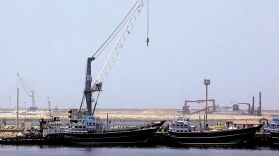 Chabahar port is being seen as a gateway for trade by India, Iran and Afghanistan with Central Asian countries. (File photo)