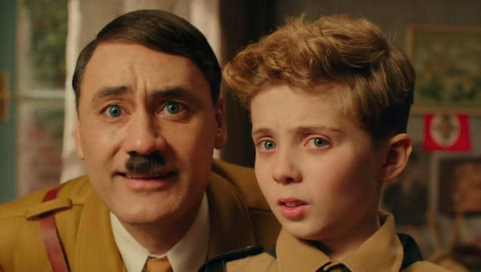Taika Waititi plays Adolf Hitler in Jojo Rabbit.