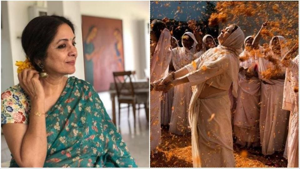 Neena Gupta plays a widow in The Last Color.