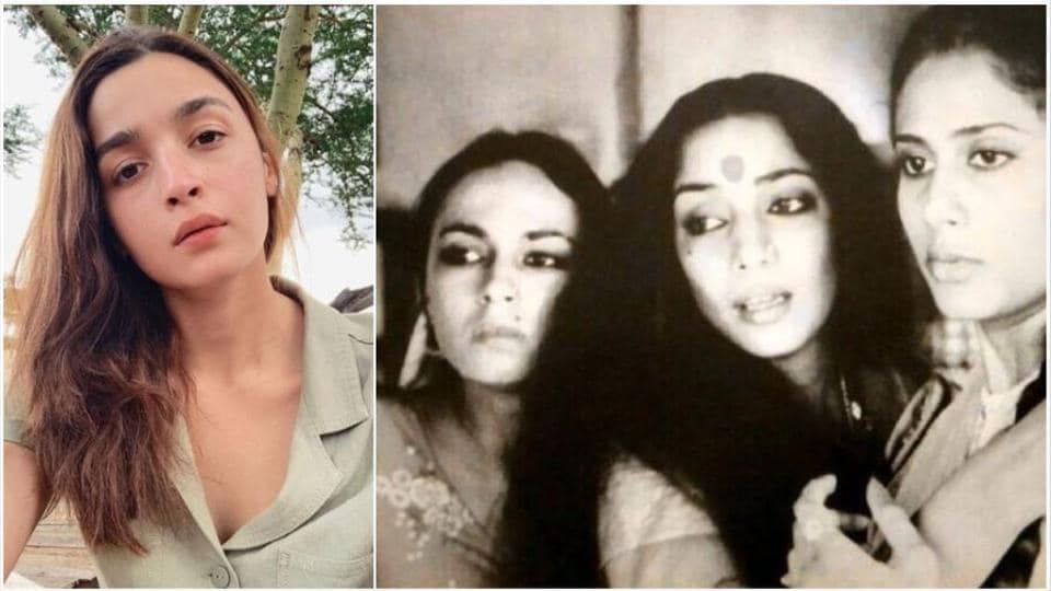 Alia Bhatt does look a lot like her mother Soni Razdan in this pic.