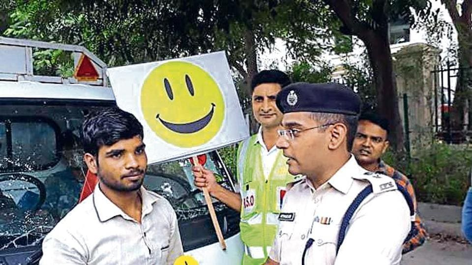 Traffic police conducted a three-day awareness and educational campaign in several schools, colleges and corporate companies across the city.