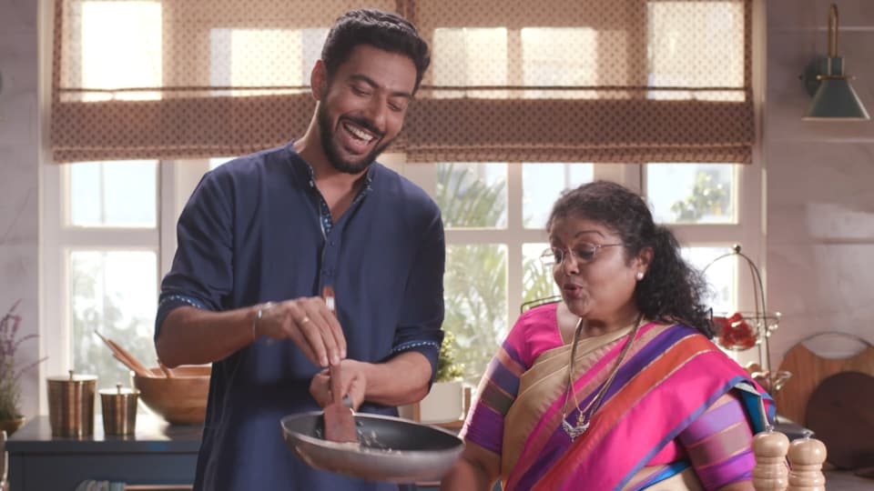Ranveer Brar cooks up a storm in an Indian household on his new show Home Made Love.