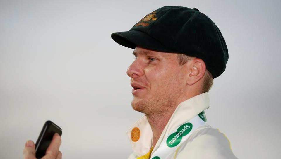 Steve Smith after the fifth Ashes Test.
