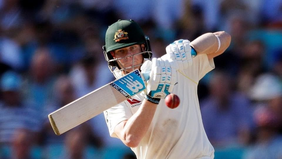 Australia's Steve Smith in action during the fifth Ashes 2019 Test.