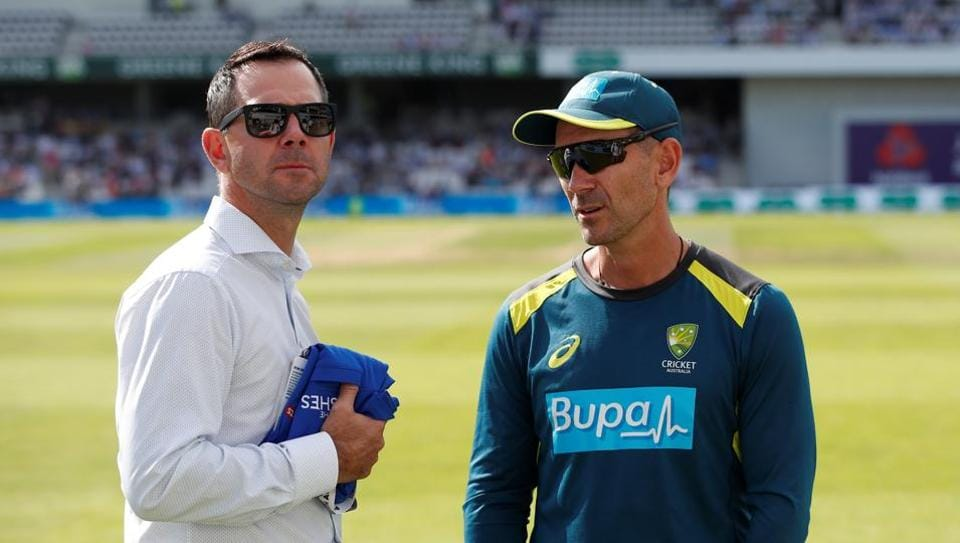 File image of Ricky Ponting and Justin Langer