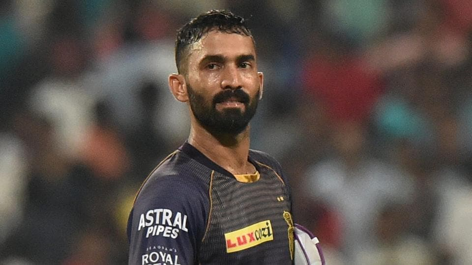 File photo of Kolkata Knight Riders captain Dinesh Karthik.