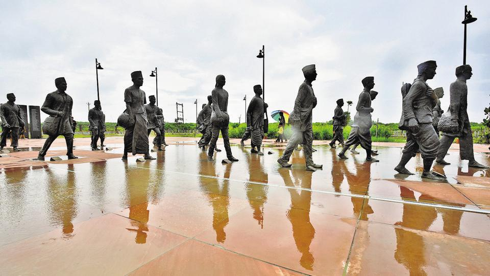 The 'National Salt Satyagraha Memorial', Dandi, Gujarat, India is conceived as an experiential journey recreating the spirit and the energy of the 1930 Dandi March led by Mahatma Gandhi and 80 of his fellow Satyagrahis.