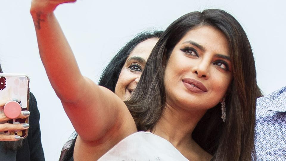 Priyanka Chopra attends a premiere for The Sky is Pink on day nine of the Toronto International Film Festival.