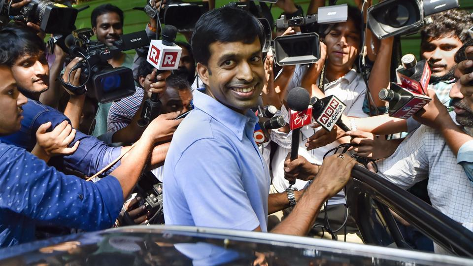 A file photo of Pullela Gopichand.