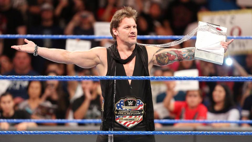 Chris Jericho during his last run with the WWE.