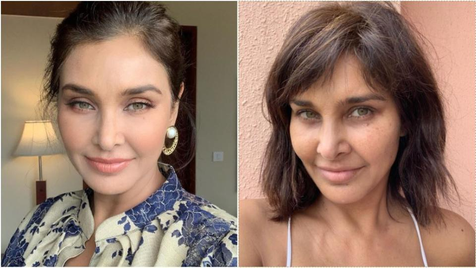 Lisa Ray has shared a 'free and unfiltered' selfie.