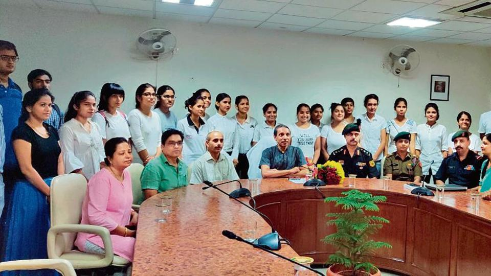 """JNU had in July 2017 announced to start the NCC unit at its campus with an aim to instill """"patriotic commitment"""" among student, said Budhha Singh, chairperson of JNU's NCC unit."""