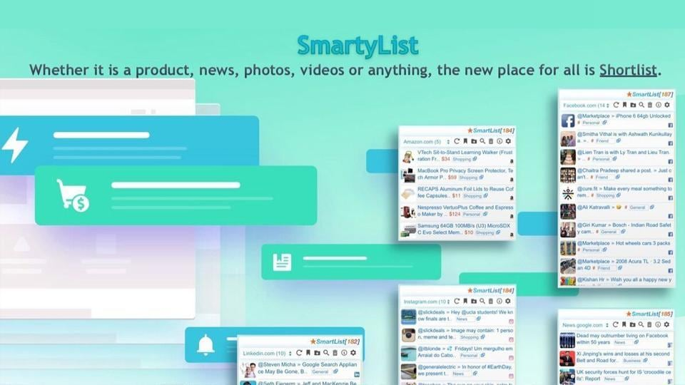 Veeresh Devireddy launched SmartyList with an aim to transform the conventional method of browsing through Artificial Intelligence (AI) in as intuitive a manner as possible.
