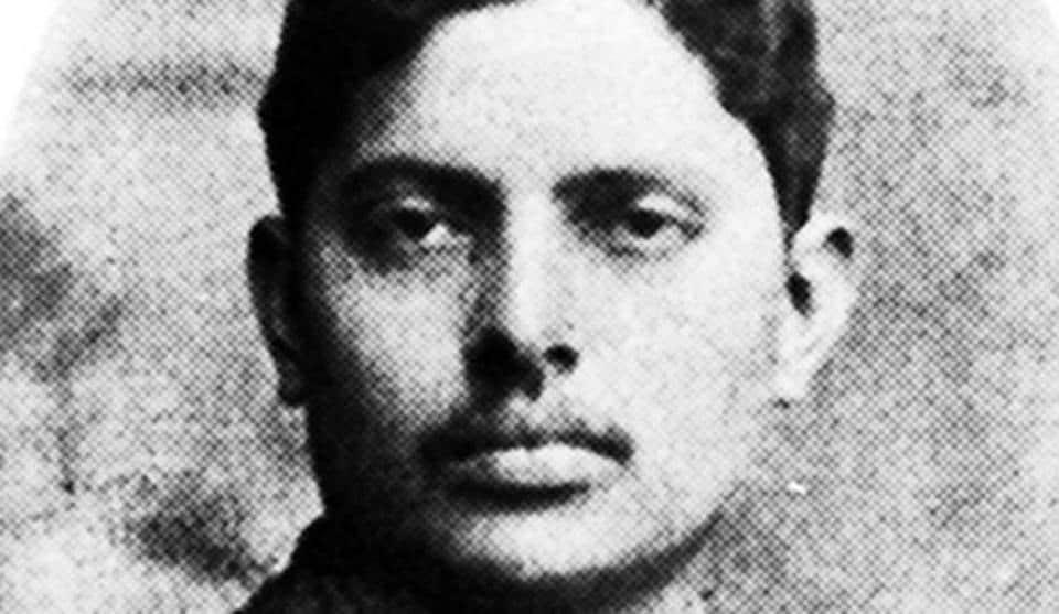 Harilal Gandhi, 1910. Wikimedia Commons/ Nizil Shah