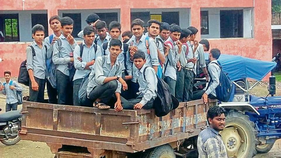 The students were rescued by the SDRFwith the help of local police.
