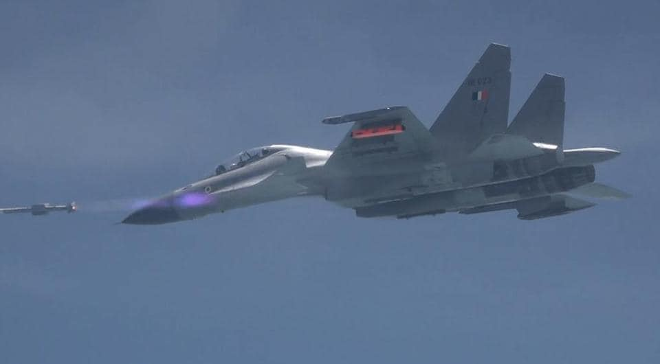 India's indigenously designed air-to-air missile Astra was successfully test-fired from the Bay of Bengal off the coast of Odisha on Tuesday.