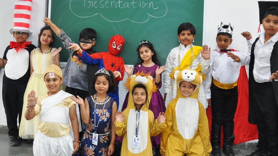 Children came dressed as their favourite characters in books