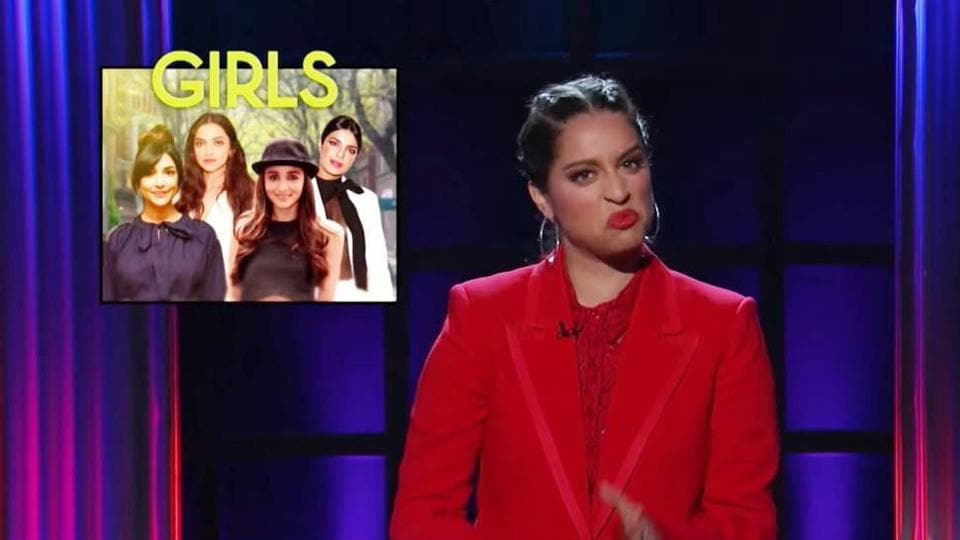 Lilly Singh talked about minority representation in Hollywood in her opening monologue on A Little Late With Lilly Singh.