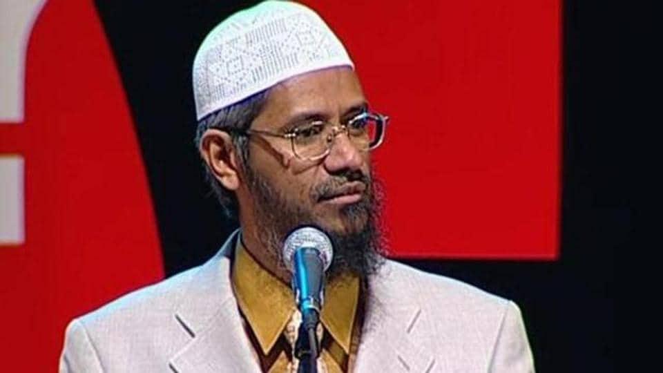Controversial preacher Zakir Naik