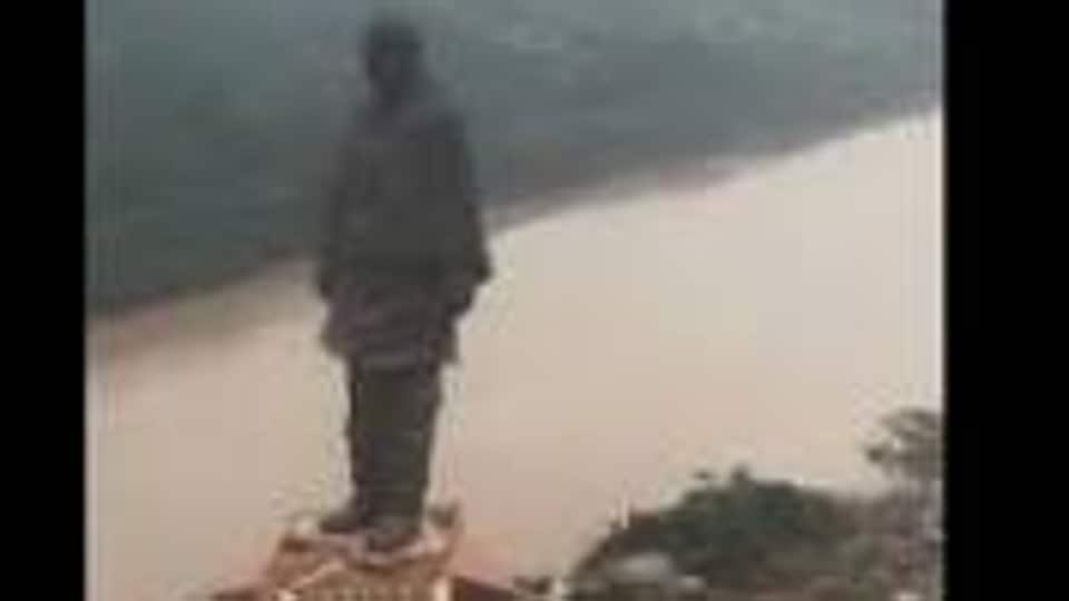 PM Modi tweeted a short 90-second video, sharing an aerial view of the Statue of Unity that is billed as the world's tallest.