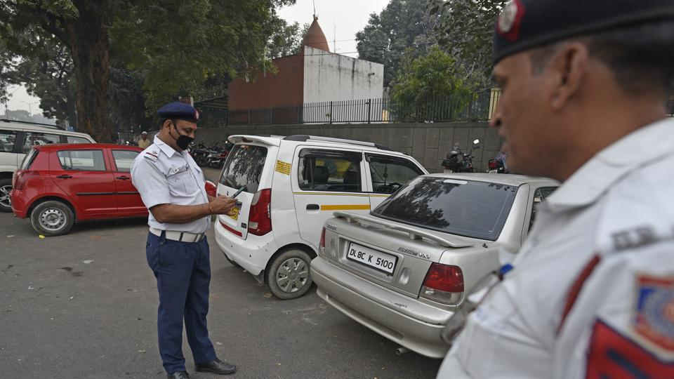 As per existing rules, the fine for first violation for parking vehicle dangerously at public places is Rs 500  and Rs 1,000 for their next violation.
