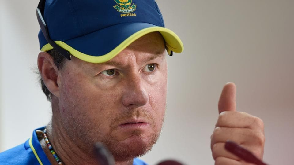 South African batting coach Lance Klusener