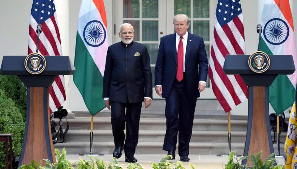 """The White House had yesterday confirmed that Trump will attend PM Modi's diaspora outreach event—""""Howdy, Modi!""""— in Houston on September 22."""