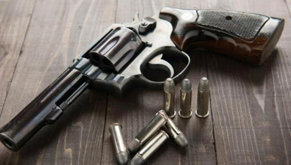 A businessman was shot dead outside his house in east Delhi's Jyoti Nagar on Monday night, reports ANI.
